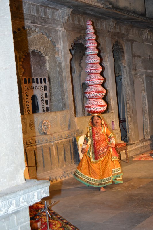 Cultural Night at Udaipur