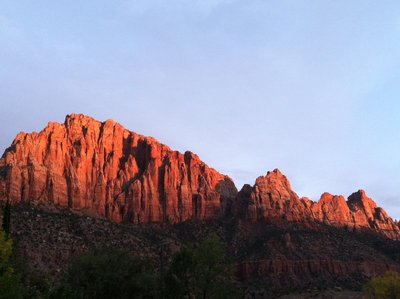 zion sunset 2
