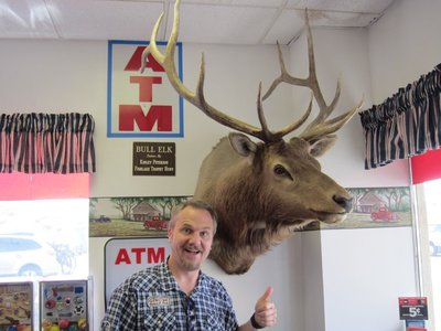 Dave & a deer