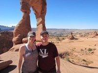 Davd & Lynette & Delicate Arch