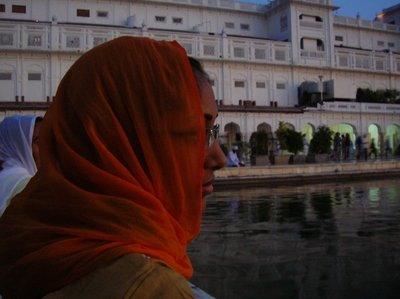 Reema at the Golden Temple