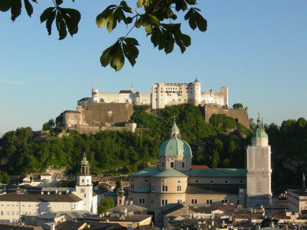 Fortress in Salzburg, Austria
