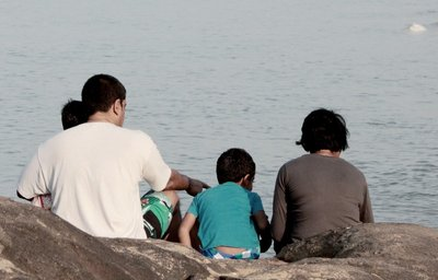 Family outing at Bekal beach