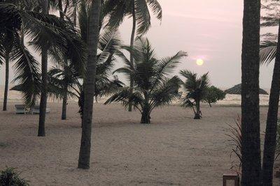 Arabian sea sunset