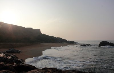 Sunrise over Bekal fort