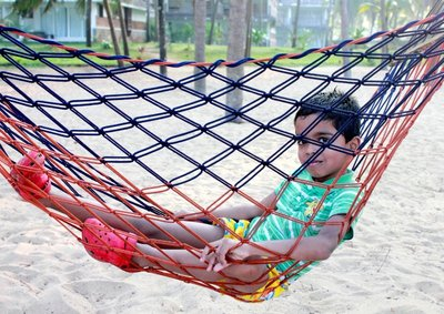 Tarun on the Hammock Nileshwar