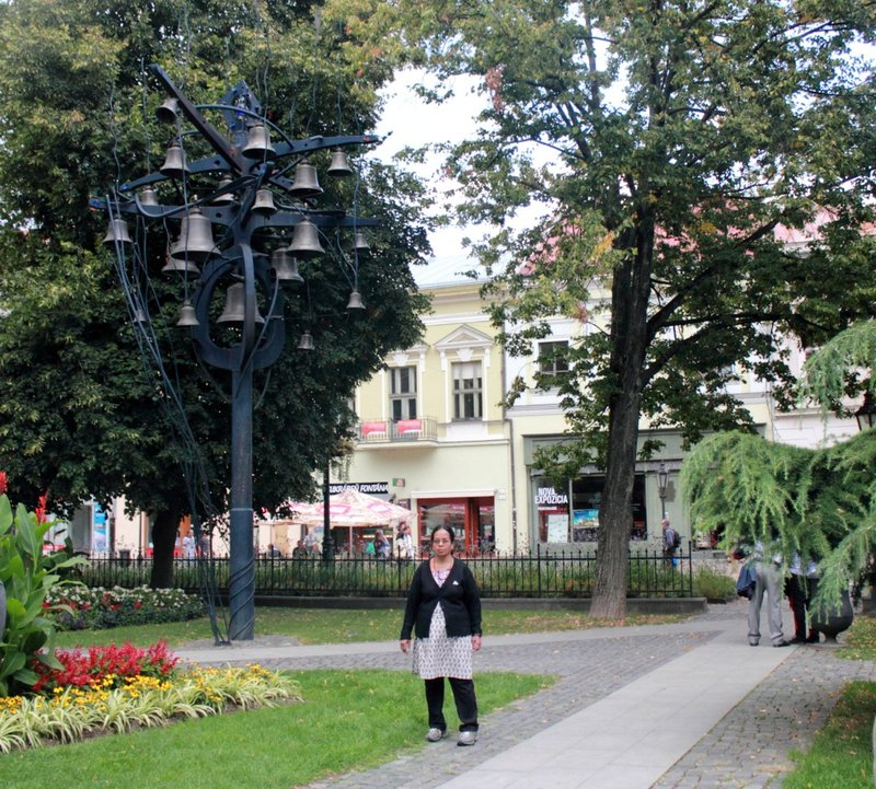 Kosice central park