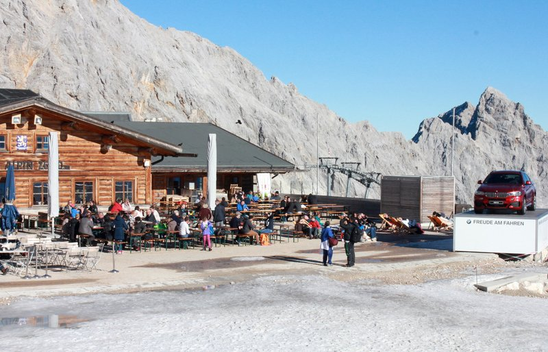 Outdoor Seating in a Restaurant in Zugspitze