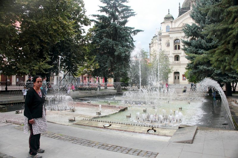 Singing fountain Kosice