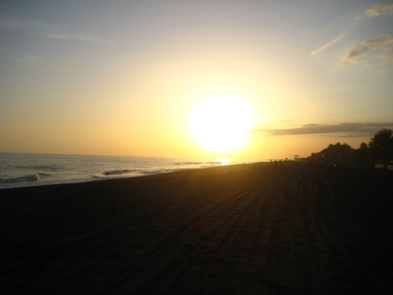Sunset at Monterrico