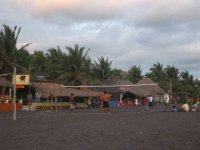 Black Beach Volleyball
