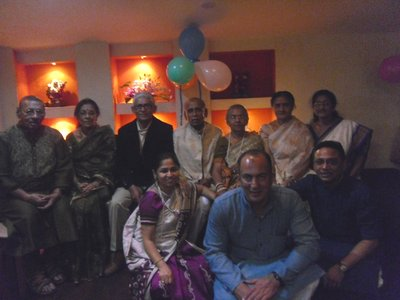 Aunti and Uncle's 50th Wedding Anniversary in Kolkata