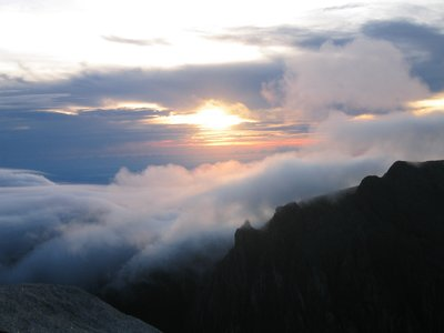 Sunrise on top of Mt. Kinabalu
