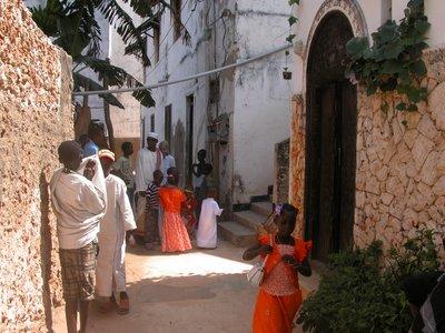 Steet Scene in Shela Town