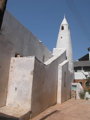 Mosque in Shela Town