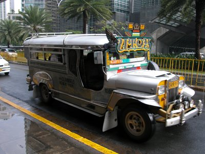 Jeepney in Makati City - Metro Manila
