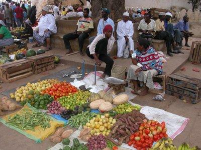 Vegetable Shop - Lamu Town Square Market