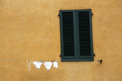 Wash day in Lucca