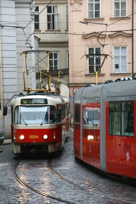 Public Transport in Prague