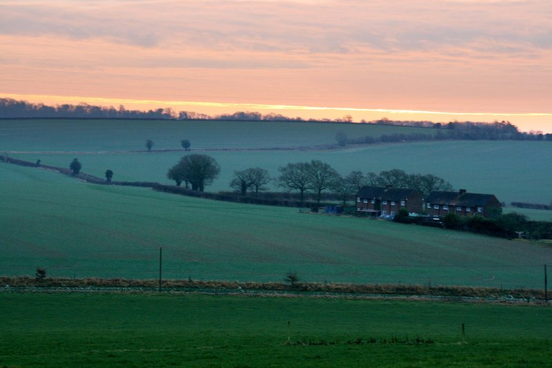 Meon Valley December morning