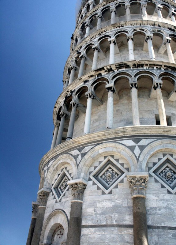 The leaning Tower of Pisa (Detail)