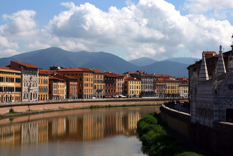 The River Arno at Pisa
