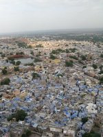Jodhpur as seen from the Fort (Mehrangarh)