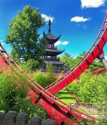 Tivoli Gardens Daemon Coaster
