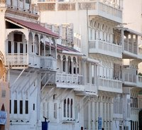 Muscat - merchant's houses