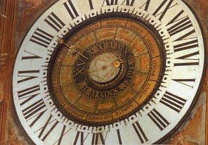 Planetary Clock Fanzago a Clusone