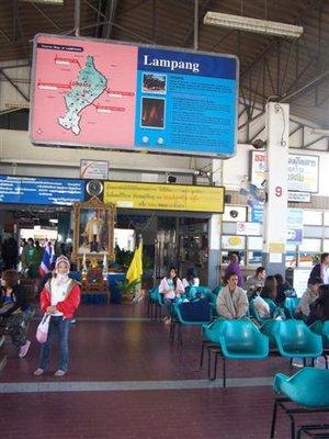 Lampang bus station