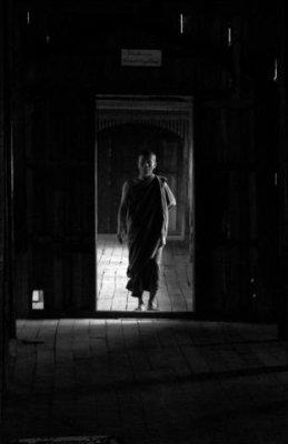 The enlightened monk