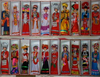 ethnic minory dolls