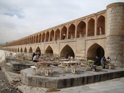 Terrace Iranian style