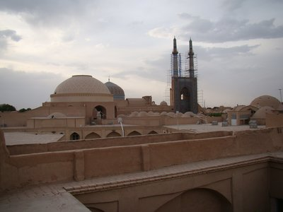 Early evening in Yazd