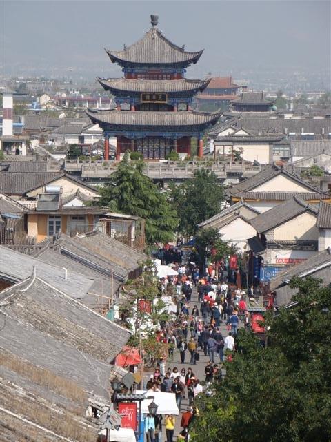 Shopping street Da Li