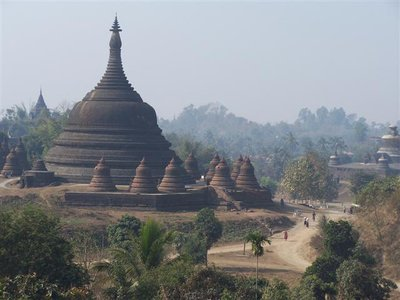 Temples of Mrauk U