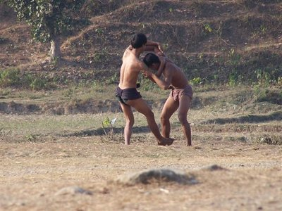 wrestling at mrauk u