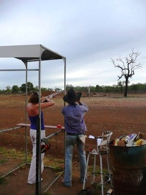 Clay Pigeon Shooting