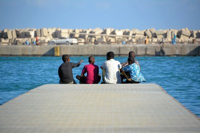 Bosaso Harbour Somalia