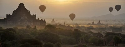 Balloon Rise Bagan
