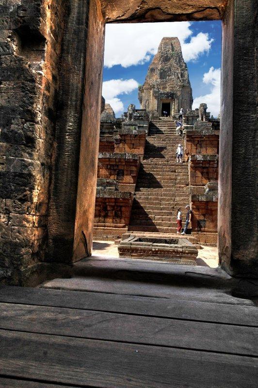 Doorway Ankor Wats