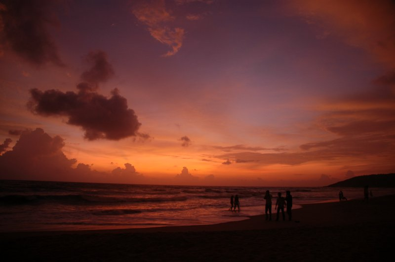 Goa Beach Sunset