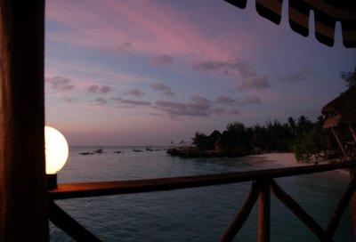 nungwi zanzibar sunset 1