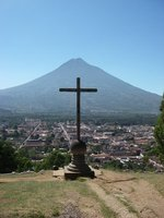 View of Antigua from Cerro de la Cruz