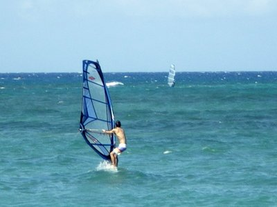 Chris Windsurfing