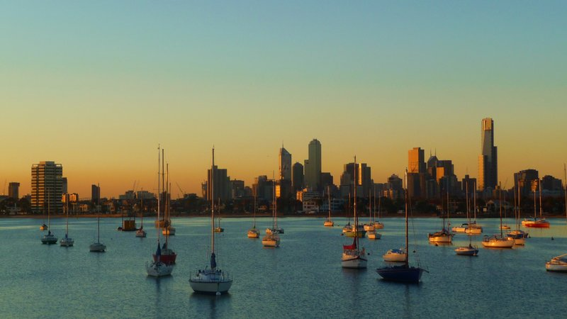 Melbourne sky line