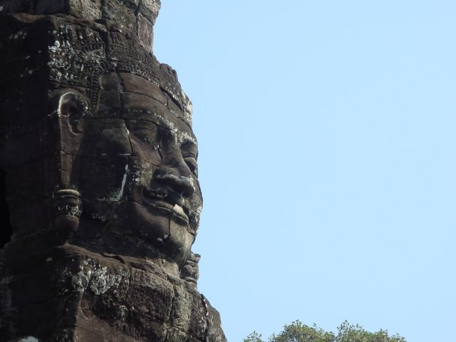 Bayon Temple's Serene Smile
