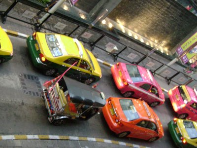 Taxis of Bangkok
