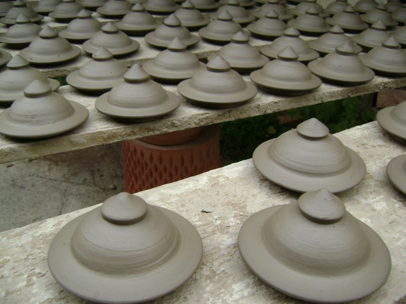 Drying Pottery in Ko Kret